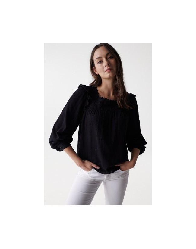 Pantalón de felpa con logo en tinta hinchable y escudo en tejido reflectante